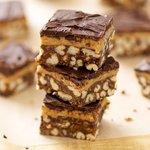 Chocolate-Peanut Butter Crispy Bars