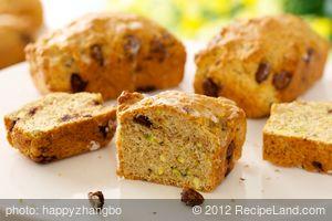 Chocolate Pistachio Orange-Loaf
