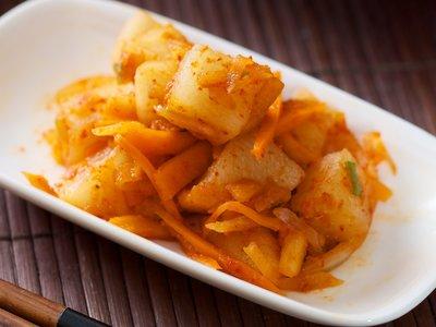 Korean Daikon Kimchi