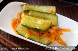 Korean Cucumber Kimchi
