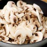 Stir in mushrooms,