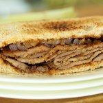 Barbecued Flank Steak Sandwiches