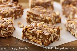 Crunchy Chocolate Peanut Butter Bars