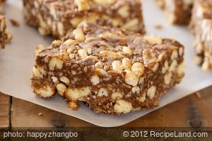 Crunchy Chocolate Peanut Butter Bars