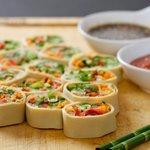 Refreshing yet tasty rolls...