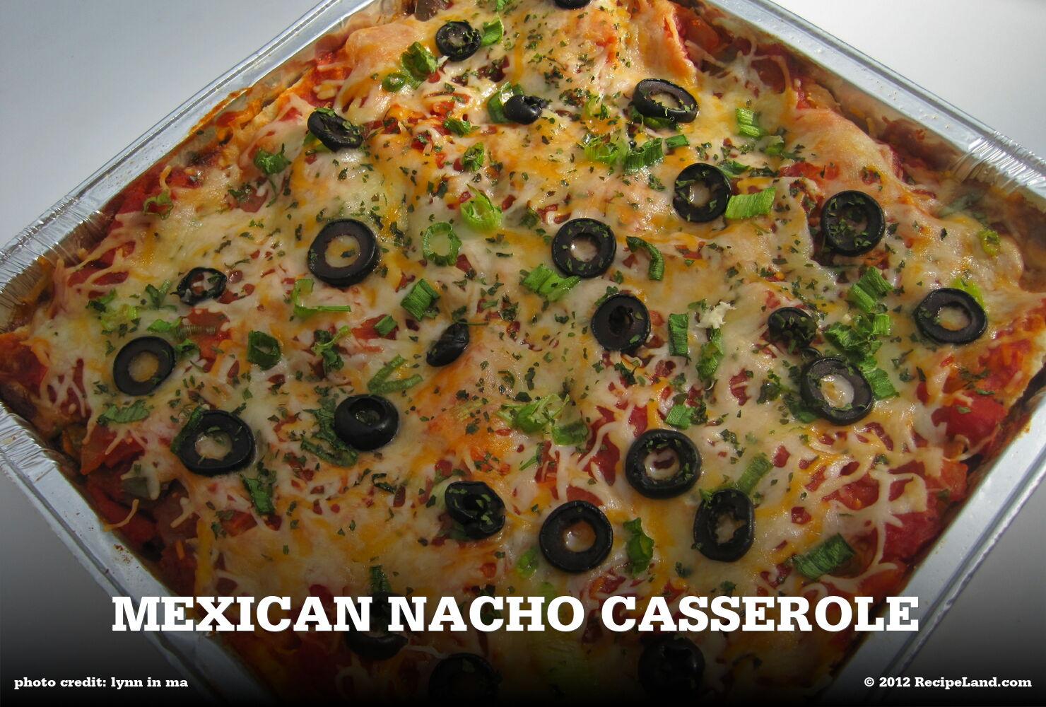 Mexican Nacho Casserole