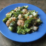 Stir-Fried Shrimp with Broccoli