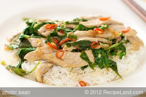 Thai Pork with Basil
