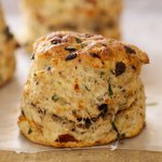 Hard to resist these savory scones.