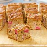 Moist Rhubarb Coffeecake
