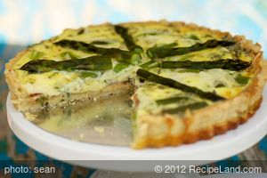 Bacon-Asparagus Quiche