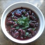 Red Cabbage and Red Bean Soup