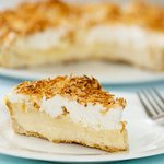 Decadent Coconut Cream Pie with Meringue Topping