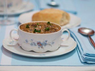 Mushroom Cashew Bisque