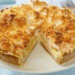Ed Debevic's Coconut Cream Pie