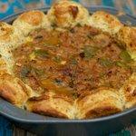 Sweet Italian Sausage Petal Pie