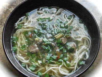 Beef Soup with Lemon Grass (Canh Thit Xao Sa)