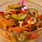 Korean Sweet-Sour Cucumber Salad