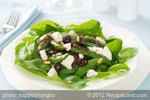 Sugar Snap Pea, Caramelized Shallots and Arugula Salad