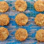 Sour Cream-Peach Muffins