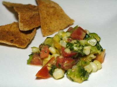 Avocado and Corn Salsa