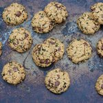 Fresh Mint Chocolate Chip Cookies