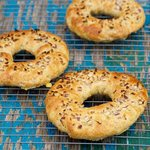 Bread Machine Onion Bagels