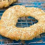 Bread Machine Garlic Bagels