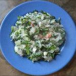 Long White Radish and Arugula Salad