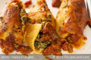 Stuffed Manicotti
