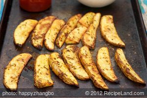 Cumin, Garlic and Paprika Oven Fries