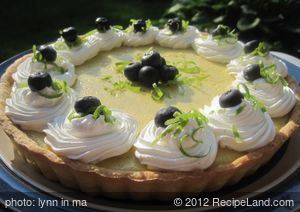 Simply Refreshing Summer Lime Tart