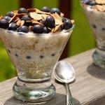 Quinoa, Blueberry and Yogurt Parfait