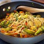 Stir-Fried Veggies with Soba Noodles