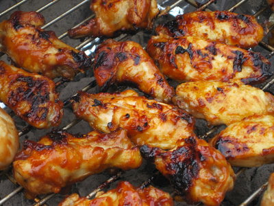 Spicy Barbecue Wings