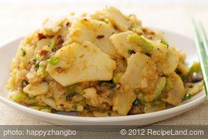 Sichuan Potato Salad