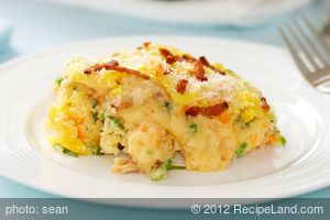 Creamy Potato Carrot Casserole