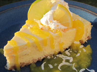 Suzy's Lime Cheesecake