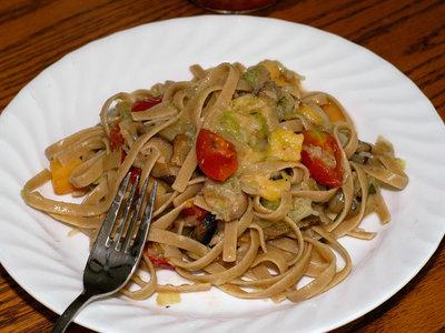 Alpine Mushroom Pasta