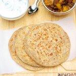 Indian Spiced Potato Stuffed Bread