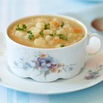 Crockpot Homemade Potato Soup
