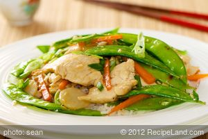 Chicken and Pea Pods