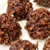 Chocolate No-Bake Oatmeal and Peanut Butter Cookies