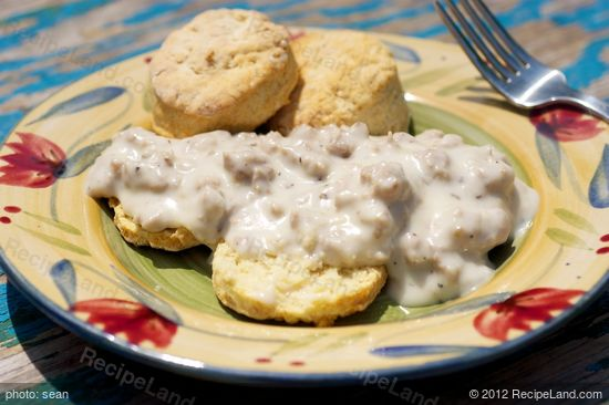 Gradma's Biscuits and Gravy