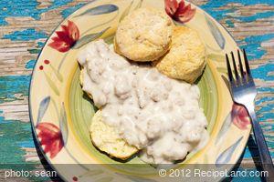 Grandma's Biscuits & Gravy