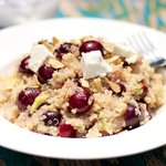 Cherry and Quinoa Salad