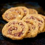 Pecan Date Pinwheel Cookies (Healthier Version)