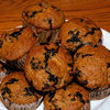 Low-Fat Blueberry Buttermilk Bran Muffins
