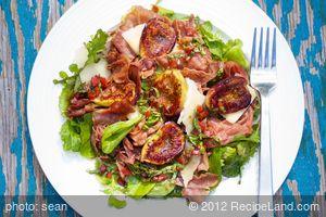 Grilled Figs, Prosciutto and Arugula Salad