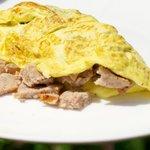 Sausage Omelet